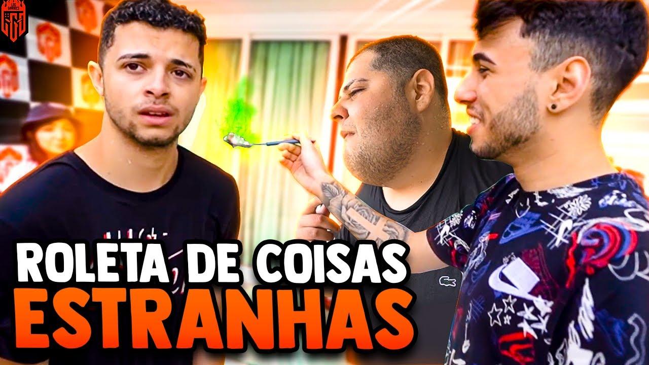 O VANQUILHA SE REVOLTOU COM A ROLETA - LOS GRANDES FREE FIRE