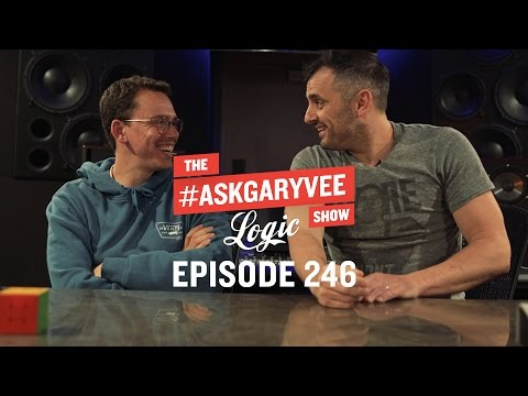 Thumbnail: Logic, Music Producers, Aspiring YouTubers & Positive Energy | #AskGaryVee 246