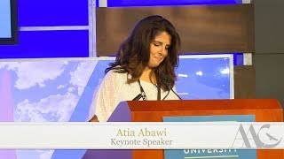Keynote Talk by Atia Abawi | AAC 2017