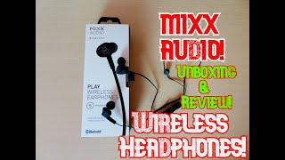 Mixx Audio Wireless Headphones Product Unboxing and Review