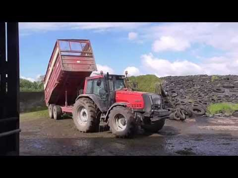 Silage in Cooperhill part two with Whites agri 2014