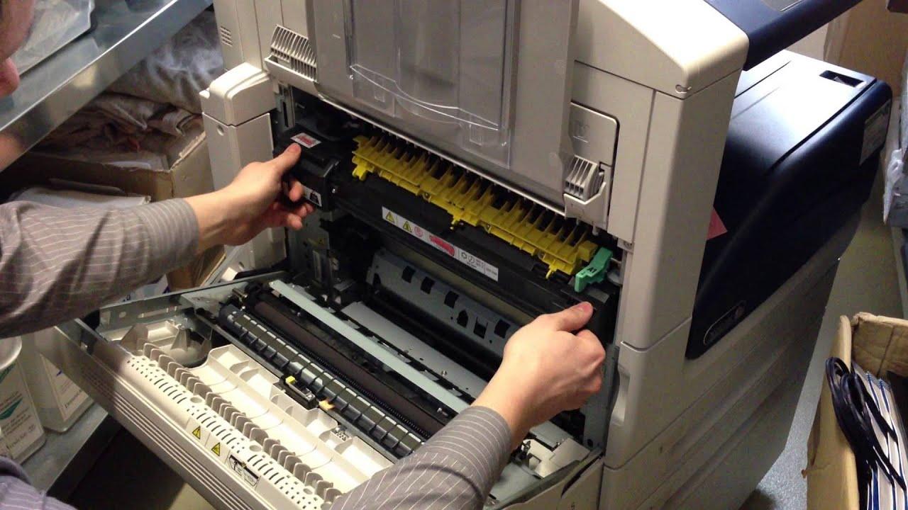 Xerox WorkCentre 7500 Serie - YouTube