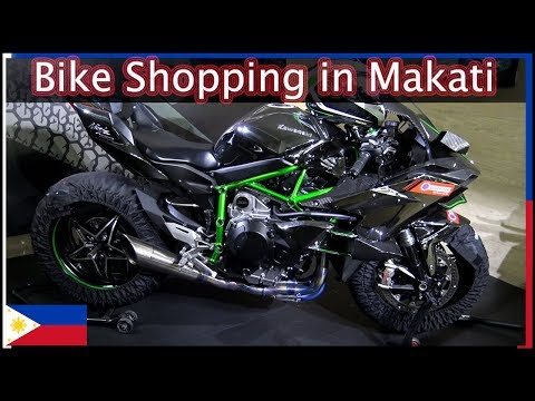 Motorcycle Shopping in Makati