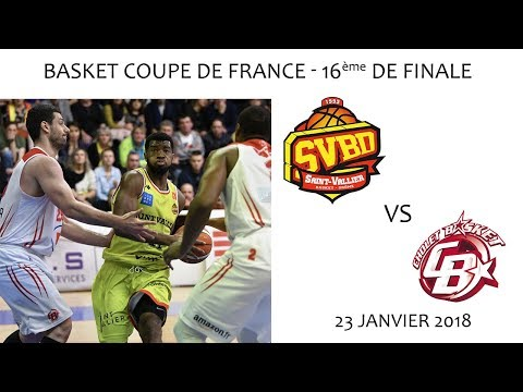 2018 01 23 Rencontres Sportives Basket Coupe de France 16ème de Finale SVBD vs CHOLET