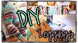 DIY Sewing Tutorial How to Make Leggings EASY