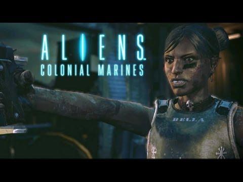 Aliens: Colonial Marines Trailer - Bella, Dwayne Hicks, Hadley