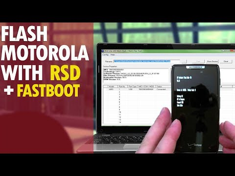 How To Restore The Motorola Droid RAZR Using Rst Lite & Fastboot File