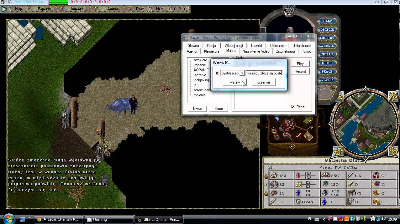 Macro - Mining | Ultima Online Razor PL - Видео онлайн
