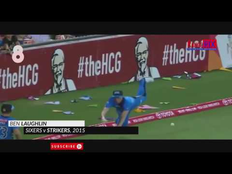 13 Best Fielding Efforts in Cricket Ever to save a Boundary