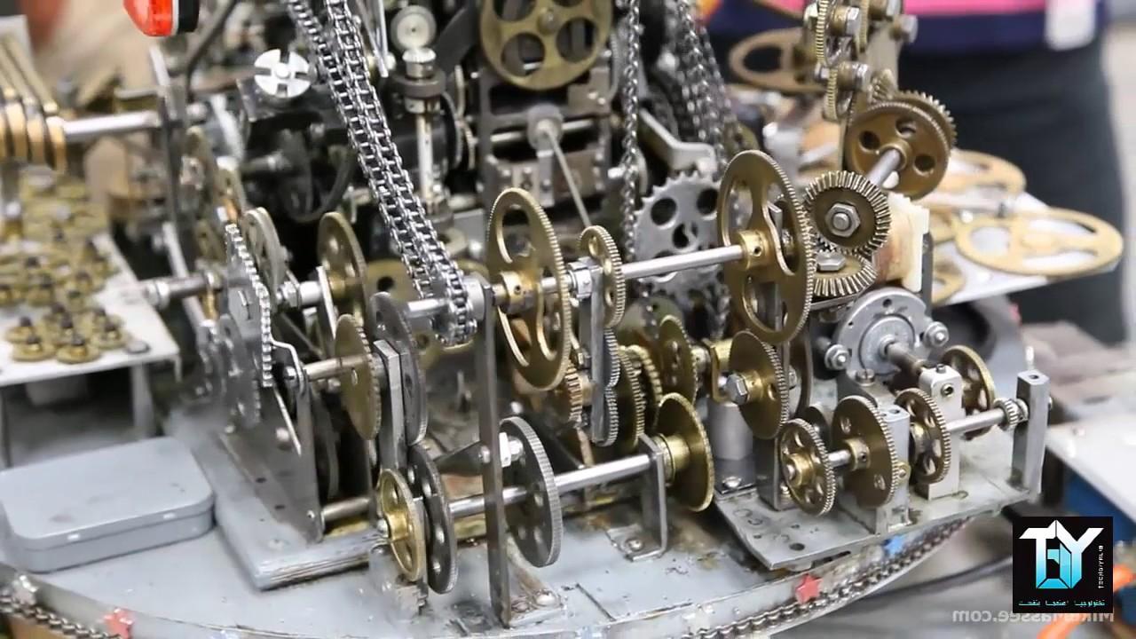 amazing mechanical machines youtube