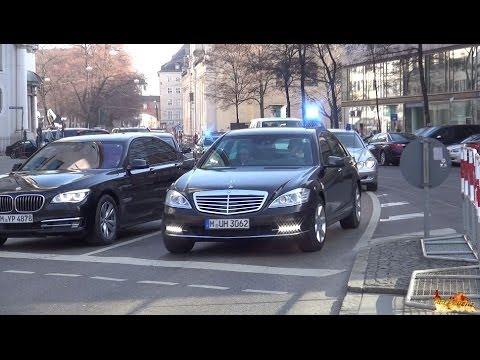 [6x VIP Kolonnen & Großdemonstration] NATO-Sicherheitskonferenz in München