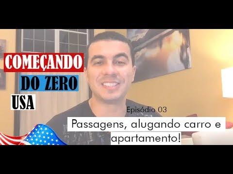 Começando do Zero - USA - Temporada 01 - Episódio 03 - Passagens, Alugando Carro e Apartamento!