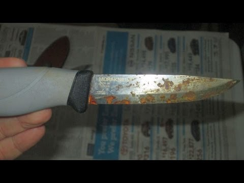 High Carbon Steel And Stainless Knives Youtube