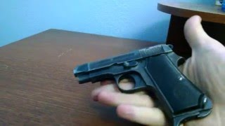 Beretta Model 1935 Quick Disassembly and Reassembly