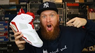 early look air jordan 6 alternate 91 review