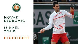 Novak Djokovic vs Mikael Ymer - Round 1 Highlights I Roland-Garros 2020