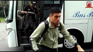 Perjalanan Menuju Stadion Maguwoharjo Uji Coba Melawan PSS Sleman