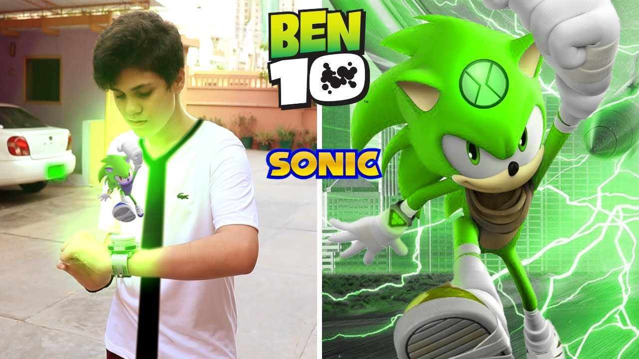 Download Ben 10 Transforming into Modern Sonic The Hedgehog | Fan Made Short Film