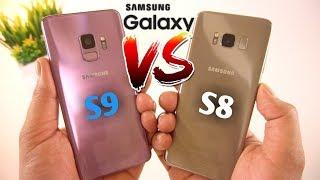 Samsung Galaxy S9 vs Samsung Galaxy S8 Speed Test & Comparison [Urdu/Hindi]