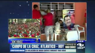 Campo de la cruz - También Llora  Hugo Chavez