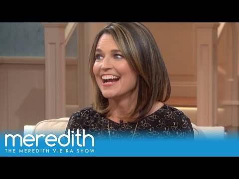 Savannah Guthrie On Her Daughter's First Words & Recent Phone Mishap! | The Meredith Vieira Show