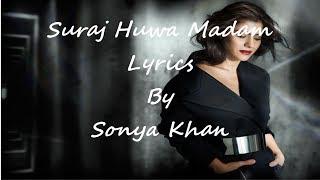 K3G - Suraj Hua Maddham Video   Shah Rukh Khan, Kajol   lyrics 