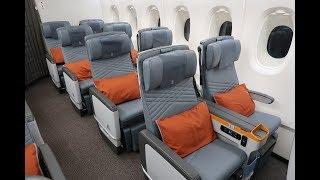 Singapore Airlines A380-800 Premium economy Frankfurt to New York ...