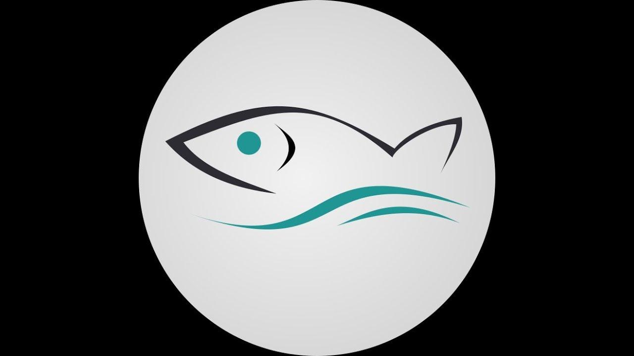 Gambar Logo Ikan Laut Nila Kakap Mas Marlin Kerapu