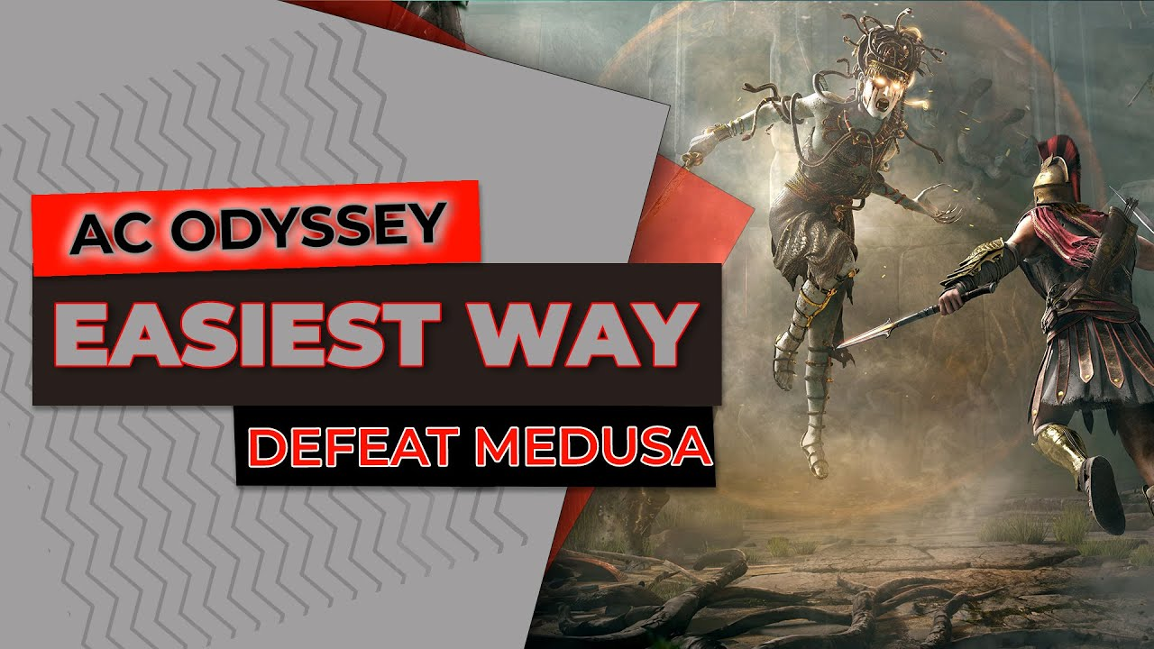 Easiest Way To Kill Medusa Assassin S Creed Odyssey Gameplay