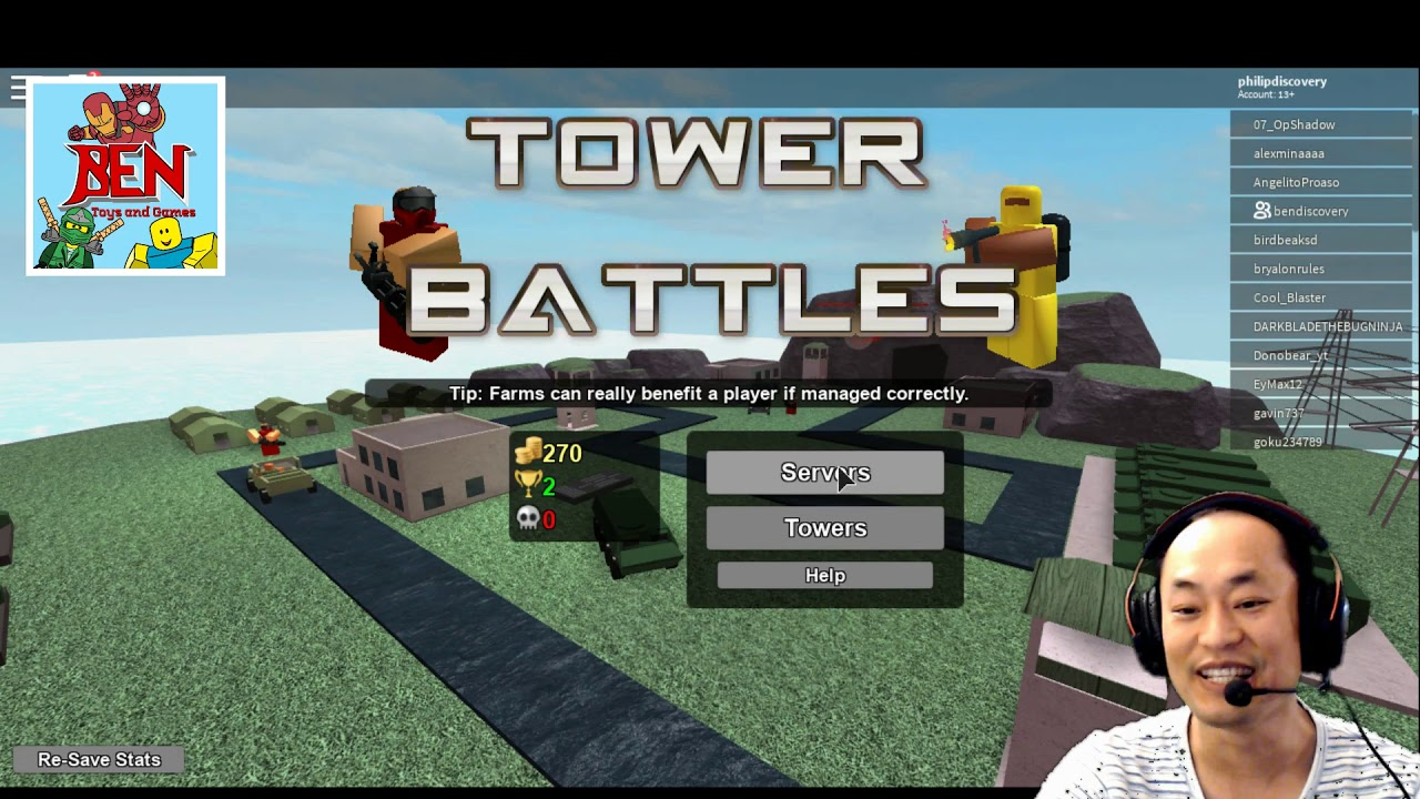 Roblox Tower Battles – We Team Up to Place Towers and Defeat the Zombies