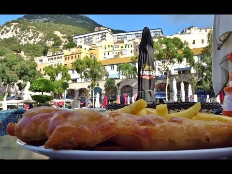 BEST FISH And CHIPS I Ever Had, Gibraltar