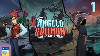 Angelo and Deemon: iOS / Android Gameplay Walkthrough Part 1 (by Dmytro Cheglakov)