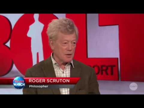 Roger Scruton Why The Left Hate