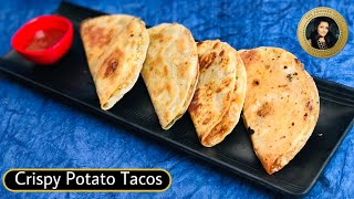 Mexican Tacos Recipe Veg   Taco Recipe Without Oven   Crispy Tacos Recipe   Indo Mexican Street Food