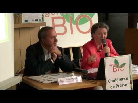En vidéo, la conférence de presse Agence Bio de septembre 2015