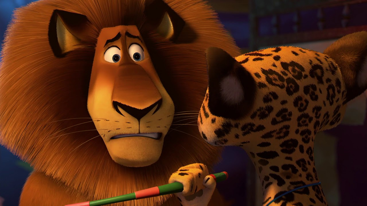 DreamWorks Madagascar en Español Latino | Sueño de alex | Circo Afro- Madagascar 3: Los Fugitivos