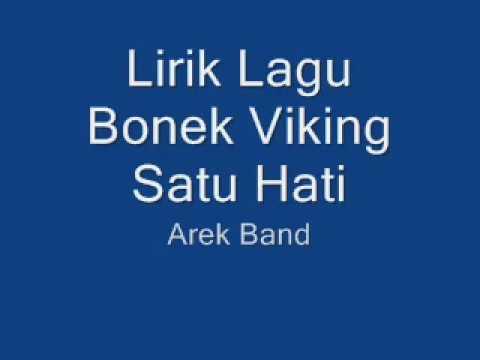 Bonek Viking Satu Hati |  Arek Band Lirik