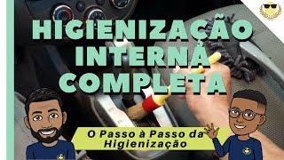 Como fazer Higienização Interna de Carros Completa   Dom Custom Car