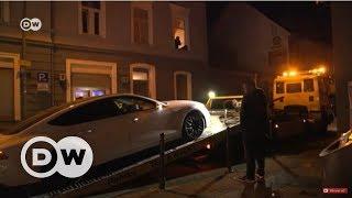 Almanya'da polis yasa dışı araba yarışçılarının peşinde - DW Türkçe