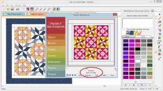 Video 5 – Designing Your First Quilt, Part 2