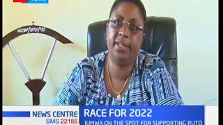 Hon Aisha Jumwa responds to hecklers who demanded that she resigns