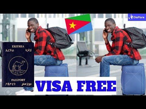 Visa Free Countries For Eritrean Passport Holders.