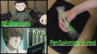 Hướng Dẫn Kĩ Thuật Quay Bút Trong Lớp Học Như SHIKAMARU trong NARUTO và KIRA trong DEATH NOTE