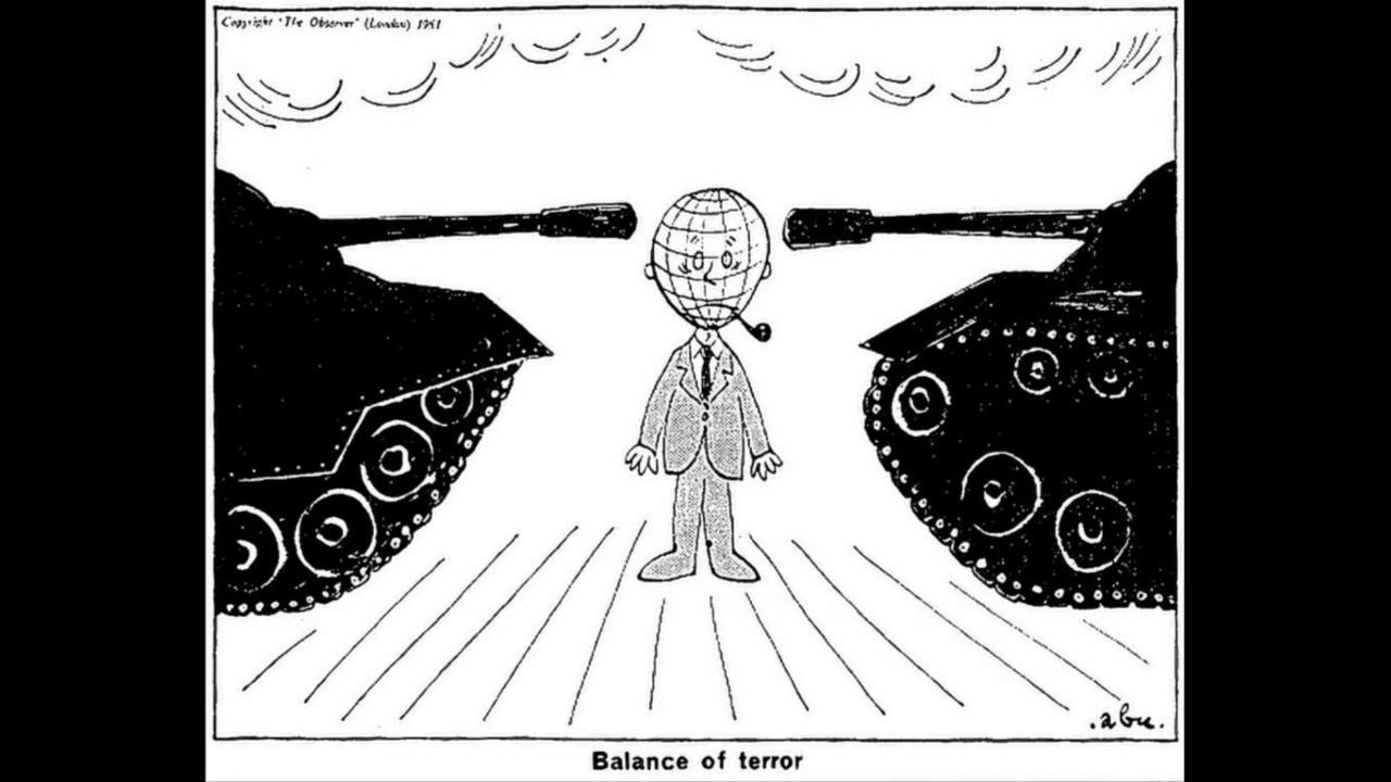Churchill iron curtain speech cartoon - The Iron Curtain Speech Cartoon Jpg 1280x720 Steel Curtain Cold War Cartoon