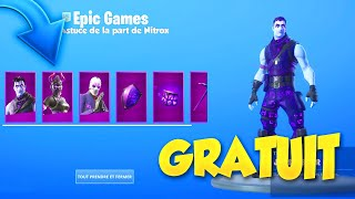 PLEASE FREE THE PACK REFLETS OBSCUR ON FORTNITE BATTLE ROYALE!