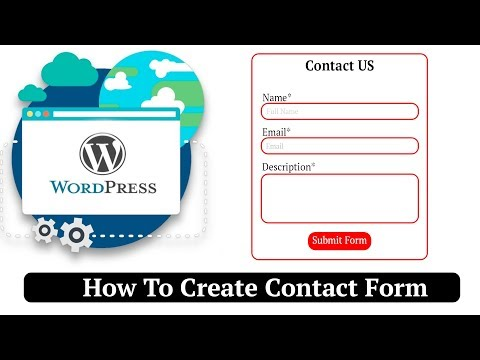 How To Create Contact Form In WordPress