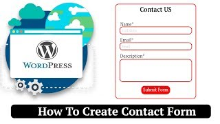 Easiest Way To Create Contact Form | Wordpress