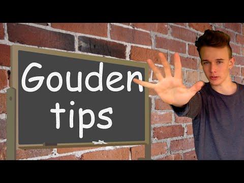 5 Gouden Tips voor een Spreekbeurt/Presentatie