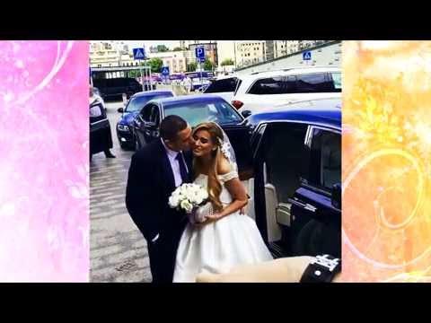 Свадьба Ксении Бородиной и Курбана Омарова. фото
