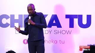 CHEKA TU. Classic Edition. Oscar Nyerere kwenye stage.